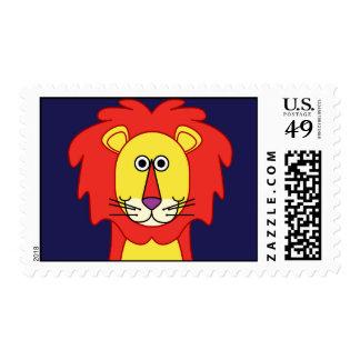 HAPPY LION STAMP
