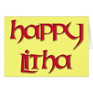 Happy Litha Card
