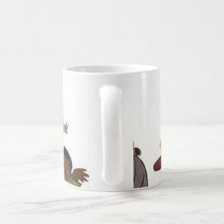 Happy little artists classic white coffee mug