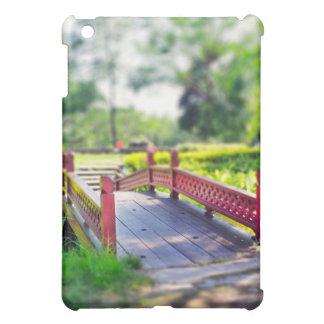 Happy Little Bridge photo iPad case