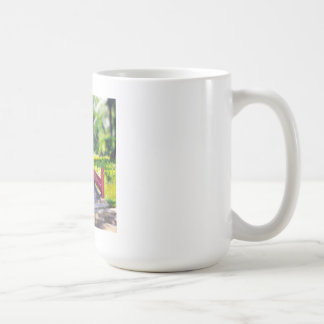Happy Little Bridge photo mug