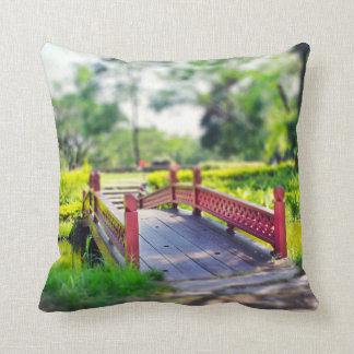 Happy Little Bridge photo pillow