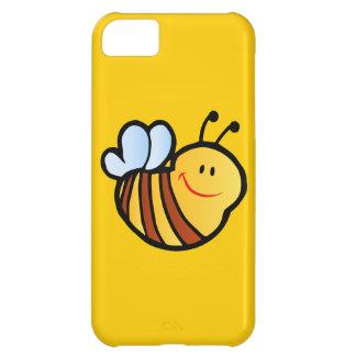 HAPPY LITTLE BUMBLEBEE BEE CARTOON CUTE HONEY INSE iPhone 5C CASE