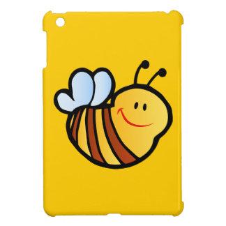 HAPPY LITTLE BUMBLEBEE BEE CARTOON CUTE HONEY INSE iPad MINI COVER