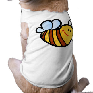 HAPPY LITTLE BUMBLEBEE BEE CARTOON CUTE HONEY INSE TEE