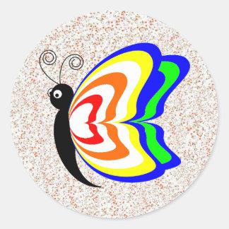 """""""Happy Little Butterfly"""" Sticker Set"""