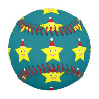 Happy Little Christmas Star Baseball