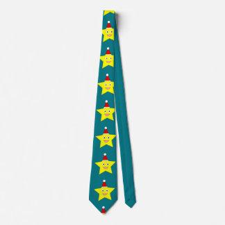 Happy Little Christmas Star Tie
