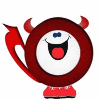 Happy little devil statuette