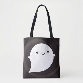 Happy Little Ghost Tote Bag