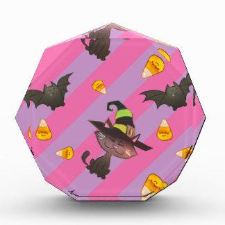 Happy Little Halloween Bat and Cat Award