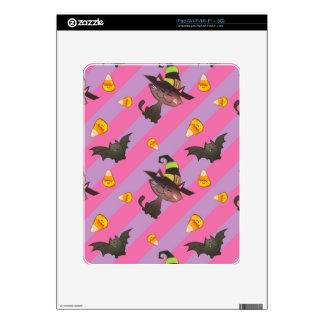 Happy Little Halloween Bat and Cat iPad Skins