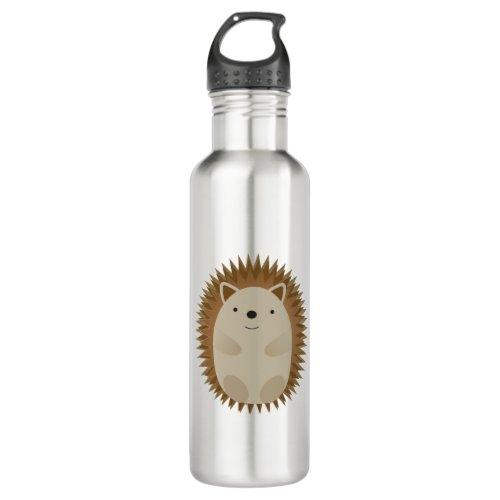 Happy Little Hedgehog Stainless Steel Water Bottle