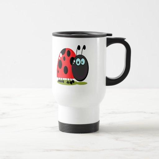 happy little lady bug travel mug