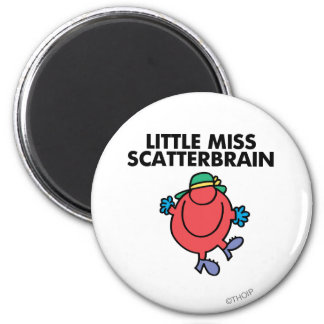 Happy Little Miss Scatterbrain Magnet