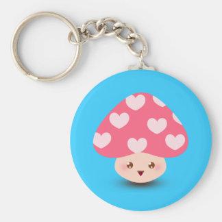 Happy Little Mushroom Keychain