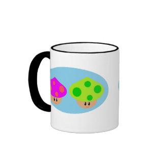 Happy Little Mushrooms mug