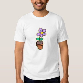 Happy Little Potted Plant! T-shirt