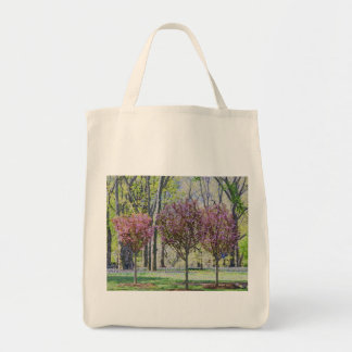 Happy Little Trees in Central Park Tote Bag
