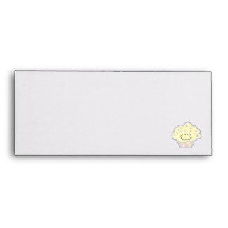 happy little vanilla cupcake envelope