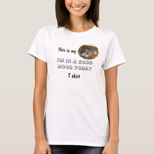 Happy Llama Good Mood Funny T-Shirt