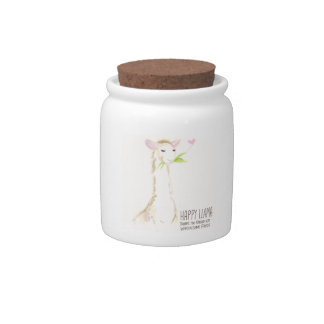 Happy Llama, Wholesome Foods Jar Candy Jars