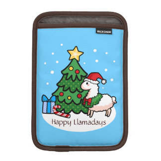 Happy Llamadays iPad Mini Sleeve
