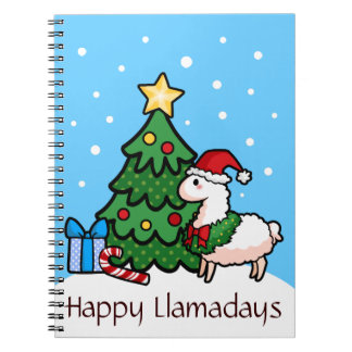 Happy Llamadays Notebook