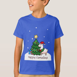 Happy Llamadays T-Shirt