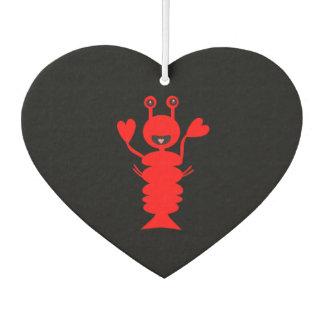 Happy Lobster Car Air Freshener
