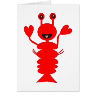 Happy Lobster Card