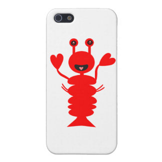 Happy Lobster Covers For iPhone 5
