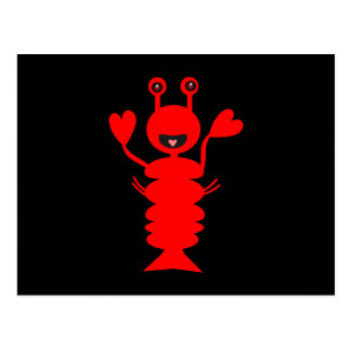 Happy Lobster Too Post Card