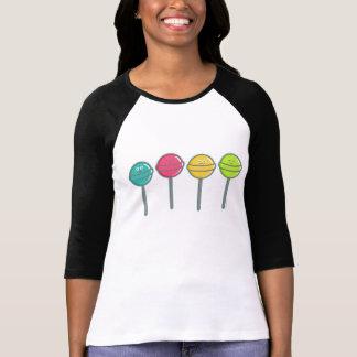 happy lollipops woman t shirt