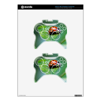 happy lonely lady bug xbox 360 controller skin