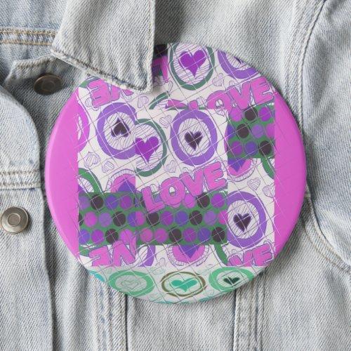 Happy Love craze Button