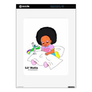 Happy&Lovely Lil'l Nadia Calcomanía Para El iPad