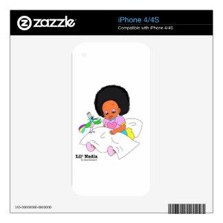 Happy&Lovely Lil'l Nadia Calcomanías Para El iPhone 4