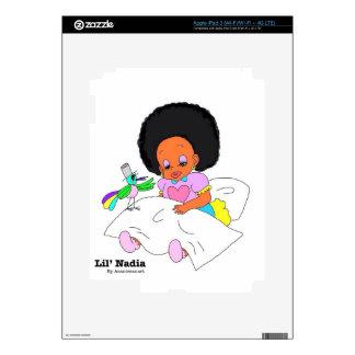 Happy&Lovely Lil'l Nadia Pegatinas Skins Para iPad 3