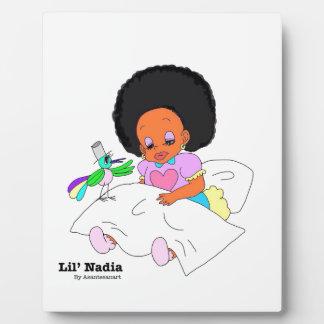 Happy&Lovely Lil'l Nadia Placas De Madera