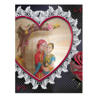 Happy Lovers day Postcard