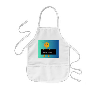 """Happy Loves to Count"" > Cute Childrens Apron"