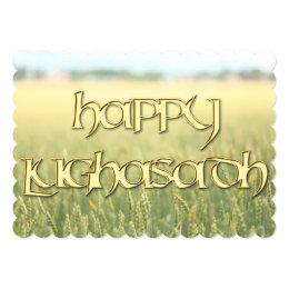 Happy Lughnasadh Invitation to a Wiccan Sabbat