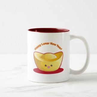 Happy Lunar New Year! Two-Tone Coffee Mug