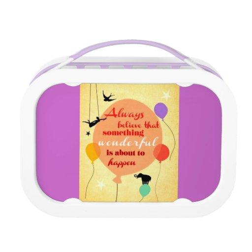happy lunch box