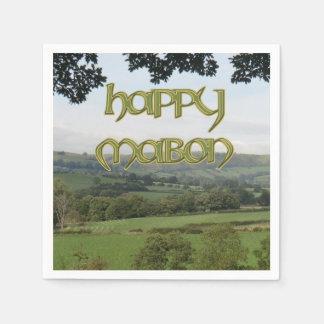 Happy Mabon Cocktail Napkins (Standard)