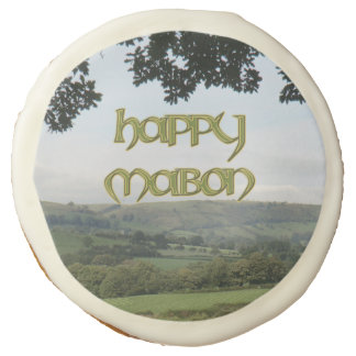 Happy Mabon Cookies for Wiccan Parties