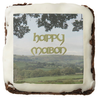 Happy Mabon Party Brownies