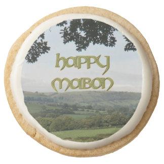 Happy Mabon Party Food: Shortbread Round Shortbread Cookie