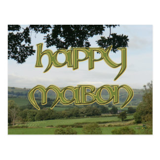 Happy Mabon Postcard